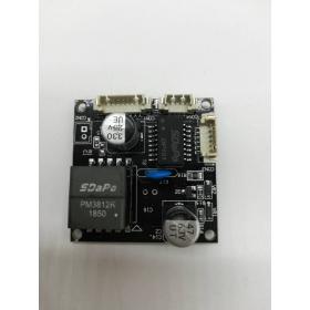 达普PM3812RV2.0 POE板 48V转12V足1A 隔离型POE模组幕平鹦值苌衤碛笆樱块 PD目纯次菔只?缬巴?块
