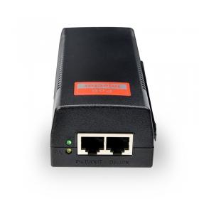 达普PSE156G支持8芯POE供电 单口60W千兆POE供电木啪诺缬巴?乜谖叮块供电器带球机